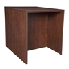 Legacy Stand Up Back to Back Desk/ Desk- Cherry