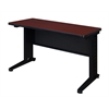 "Fusion 48"" x 24"" Training Table- Mahogany"