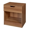 Mod Single Drawer Night Stand- Warm Cherry