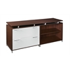 OneDesk Lateral File/ Open Storage Cabinet Credenza- Java