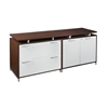 OneDesk Lateral File/ Storage Cabinet Credenza- Java