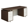 "OneDesk 71"" Double Pedestal Desk- Java"