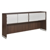 "OneDesk 71"" Sliding Door Hutch- Java"