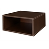 Cubo Half Size Stackable Storage Cube- Truffle