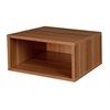 Cubo Half Size Stackable Storage Cube- Warm Cherry
