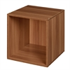 Cubo Stackable Storage Cube - Warm Cherry