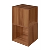 Cubo Storage Set - 2 Cubes- Warm Cherry