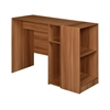 Mod Desk with 2 shelf Bookcase - Warm Cherry