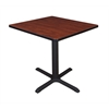"Cain 30"" Square Breakroom Table- Cherry"