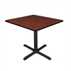 "Cain 36"" Square Breakroom Table- Cherry"