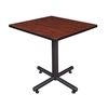 "Kobe 30"" Square Breakroom Table- Cherry"