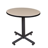 "Kobe 30"" Round Breakroom Table- Beige"