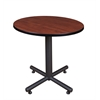 "Kobe 30"" Round Breakroom Table- Cherry"