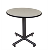 "Kobe 30"" Round Breakroom Table- Maple"