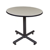 "Kobe 36"" Round Breakroom Table- Maple"