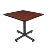 "Kobe 42"" Square Breakroom Table- Cherry"