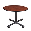"Kobe 48"" Round Breakroom Table- Cherry"