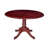 "Prestige 42"" Round Table- Mahogany"