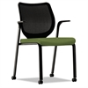Nucleus Series Multipurpose Chair, Black ilira-stretch M4 Back, Clover/Black