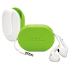 Dotz Flex Earbud Wrap, Lime Green