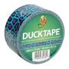 "Colored Duct Tape, 9 mil, 1.88"" x 10 yds, 3"" Core, Blue Leopard"