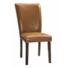 Stabilyne Parson Chair 2 per Carton, Havana Brown PU