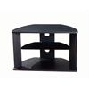 Corner TV Cart (Black), Black