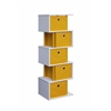 Zig Zag Storage Drawer - Yellow, Pink