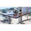 "Standing Desk Frame with Electric Adjustable Height from 28"" to 46"", Grey"