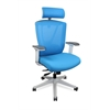 Ergonomic Office and Gaming Chair, 7-way adjustable Blue