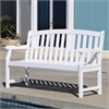 Bradley Outdoor Wood 5-foot Garden Bench