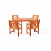 Sturdy and Large Dining Set with square table, and Arm Chairs 12