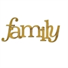 Letter2Word Family Wall Decor