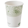 Dixie EcoSmart Hot Cups, Paper w/PLA Lining, Viridian, 8oz, 1000/Carton