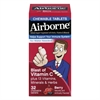 Airborne Immune Support Chewable Tablet, Berry, 32 Count