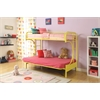 Eclipse Twin/Full/Futon Bunk Bed, Yellow
