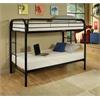 Thomas Twin/Twin Bunk Bed, Black