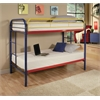 Thomas Twin/Twin Bunk Bed, Rainbow