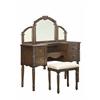 Ashton Vanity Desk & Stool, Oak