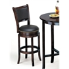 Chelsea Bar Chair with Swivel, Espresso