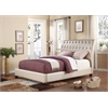 Pitney Queen Bed, Pearl PU