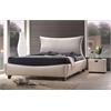 Galton Queen Bed, Pearl PU