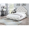 Clarisse Eastern King Bed, Fabric