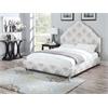 Clarisse Queen Bed, Fabric