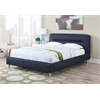 Adney Eastern King Bed, Blue Denim