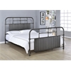 Ivey Queen Bed, Antique Black