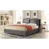 Bywilde Queen Bed, Dark Olive Gray Fabric