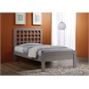 Lyford Twin Bed, Gray