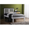 Brooklet Full Bed, White & Black