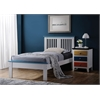 Brooklet Twin Bed, White & Blue